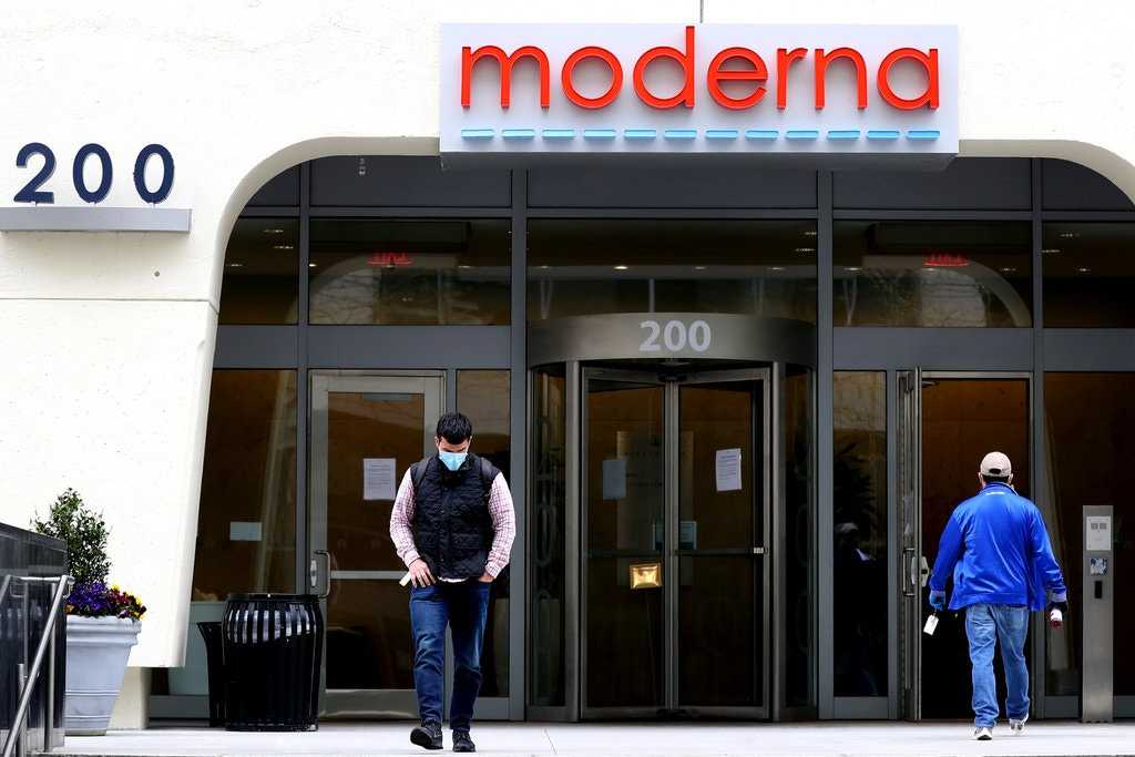 Moderna Inc. Cambridge, MA.