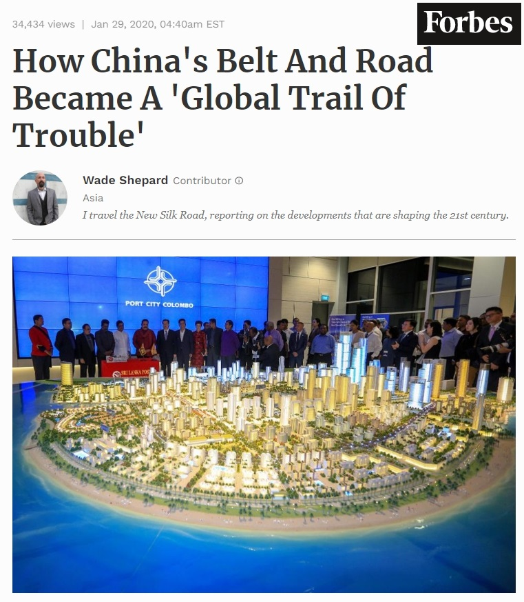 How China's Belt And Road Became A 'Global Trail Of Trouble'